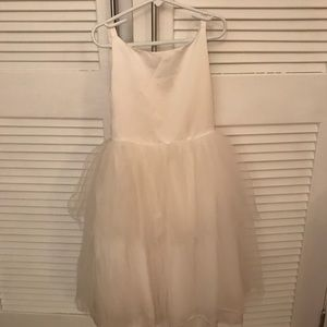 Kids Ivory tulle formal party dress size 6